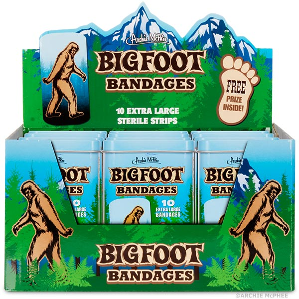 Bigfoot Bandages - Bulk Box