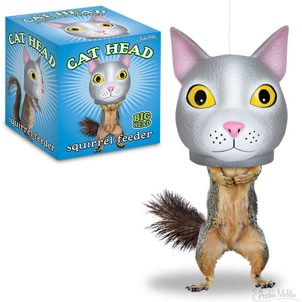 Cat Head Squirrel Feeder