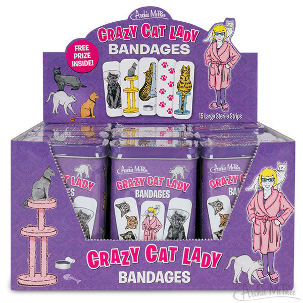 Crazy Cat Lady® Bandages - Bulk Box
