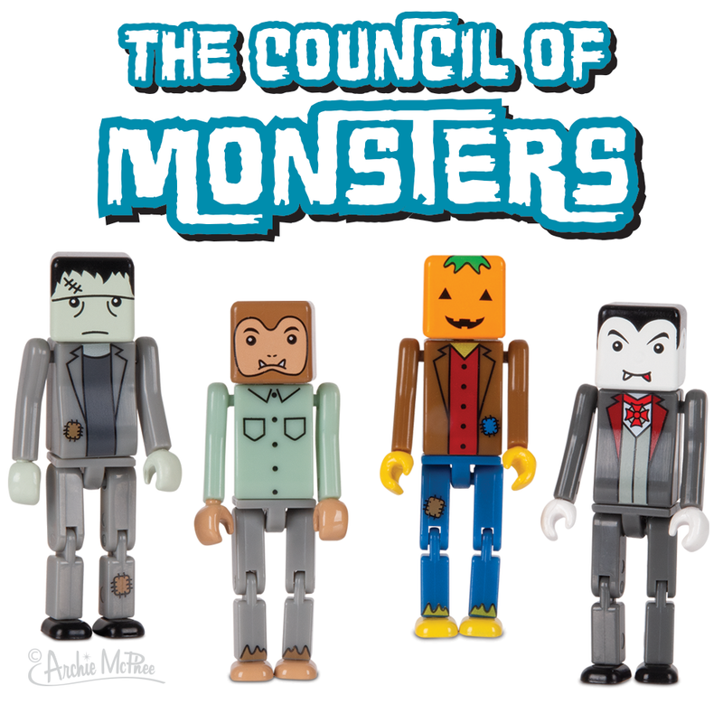 The Council of Monsters Figures