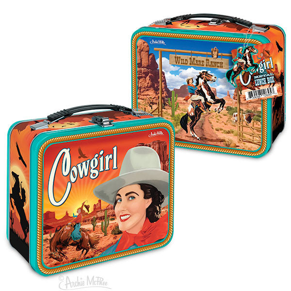 Cowgirl Lunchbox-Archie McPhee