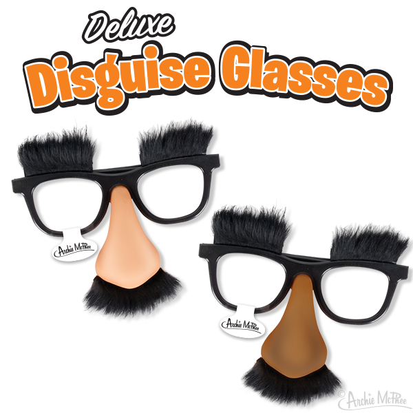 Deluxe Disguise Glasses - Bulk Box