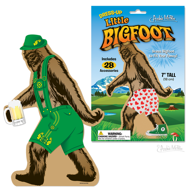 Dress-Up Little Bigfoot