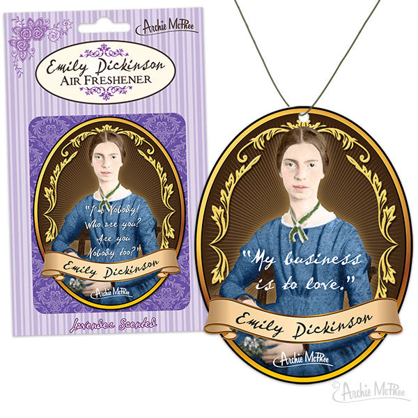 Emily Dickinson Air Freshener