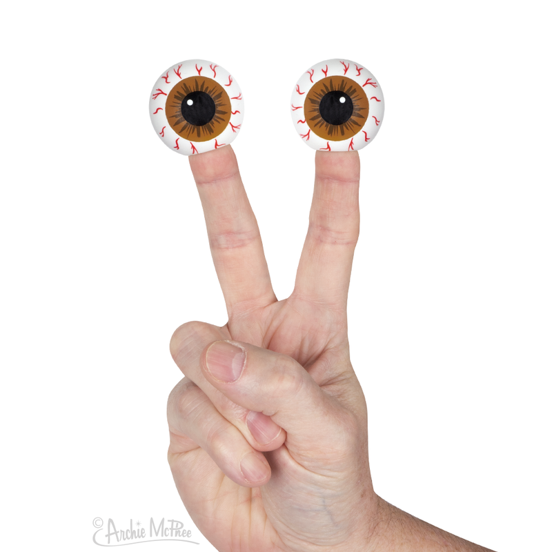 Eyeball Finger Puppets - Bulk Box