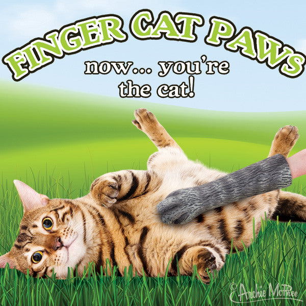 Finger Cat Paws-Archie McPhee