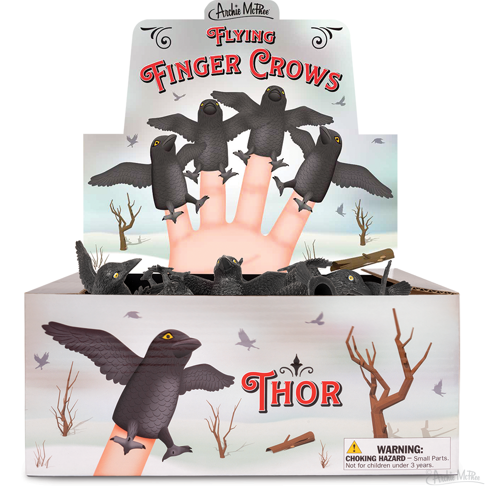 Finger Crows - Bulk Box