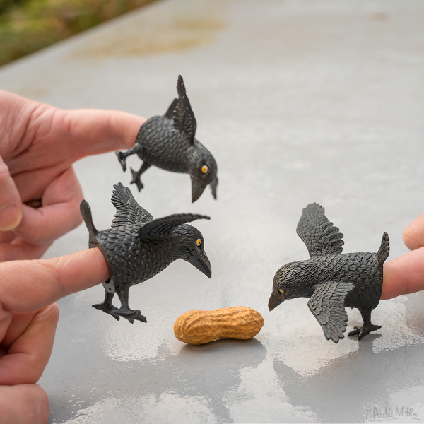 Finger Crows -  Set of 3