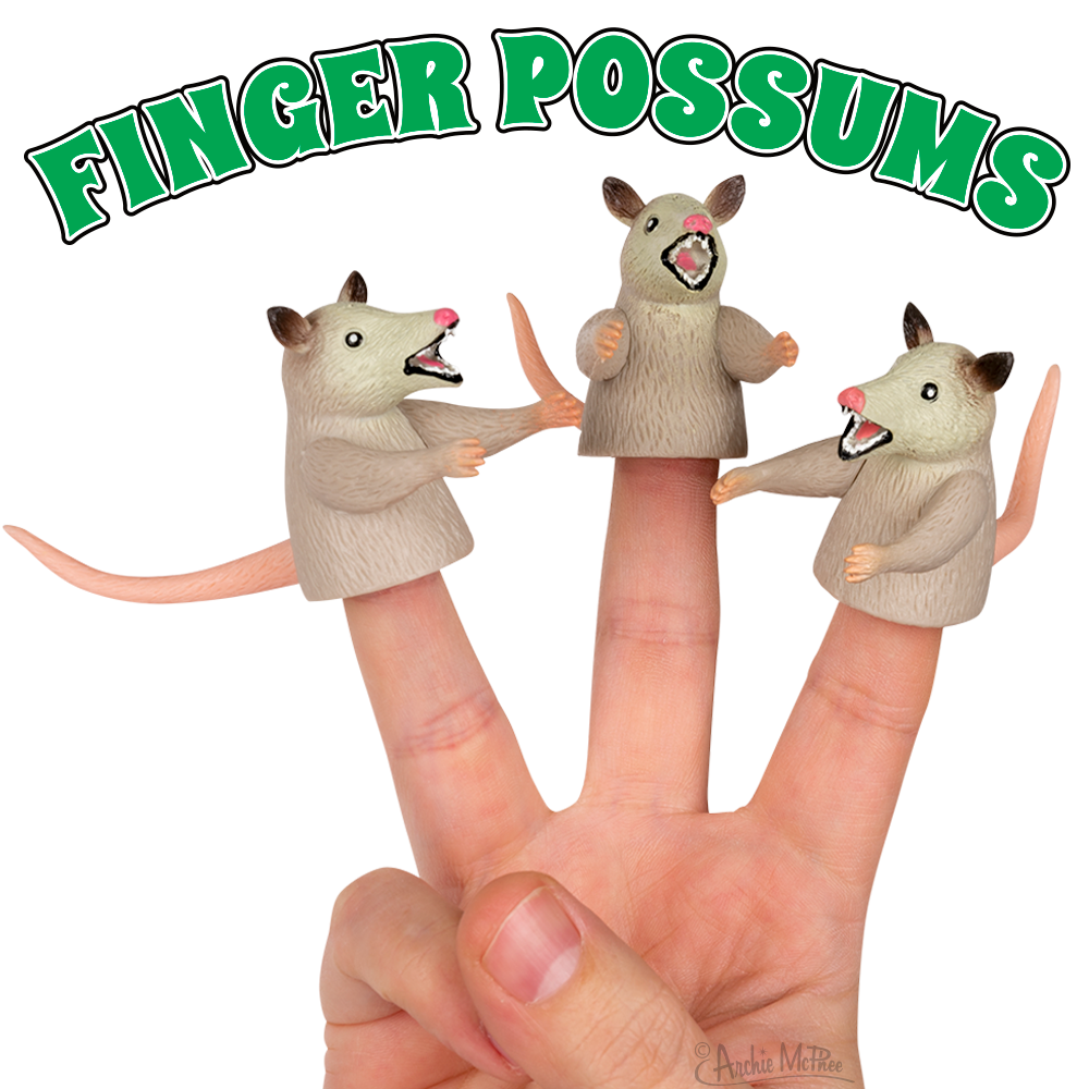 Finger Possums - Set of 3