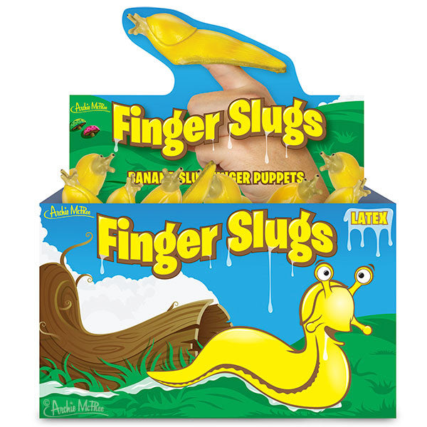 Finger Slugs - Bulk Box-Archie McPhee