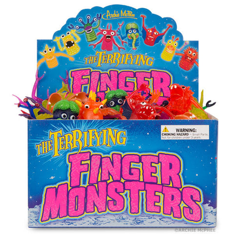 Finger Monsters - Bulk Box