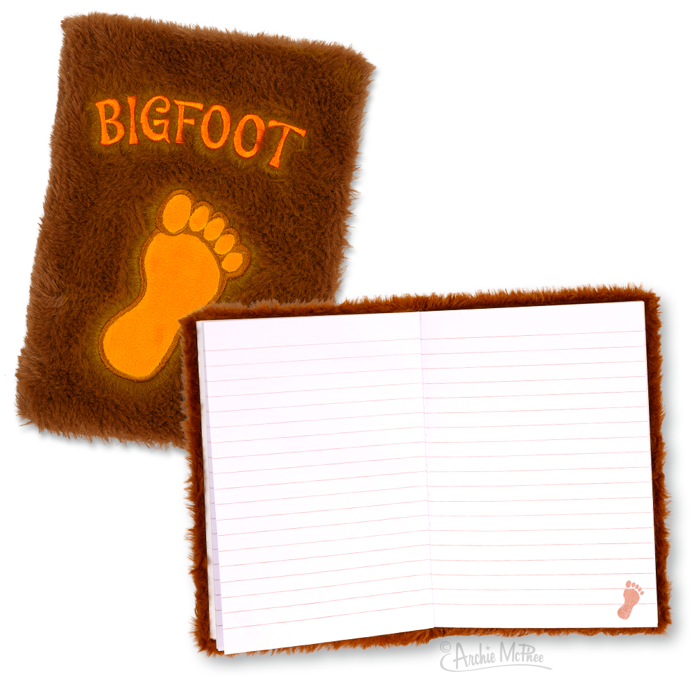 Fuzzy Bigfoot Notebook