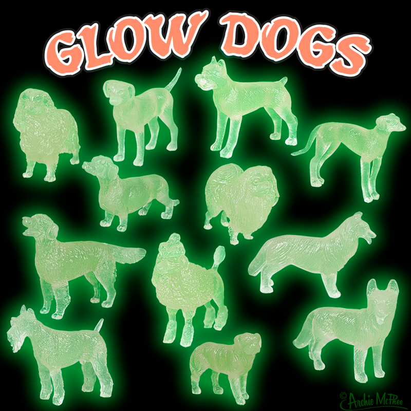 Pound of Glow Dogs Bulk Box