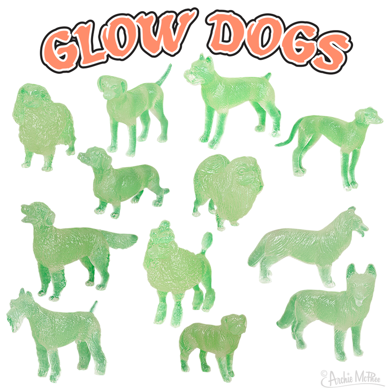 Pack of Glow Dogs (Set of 12)
