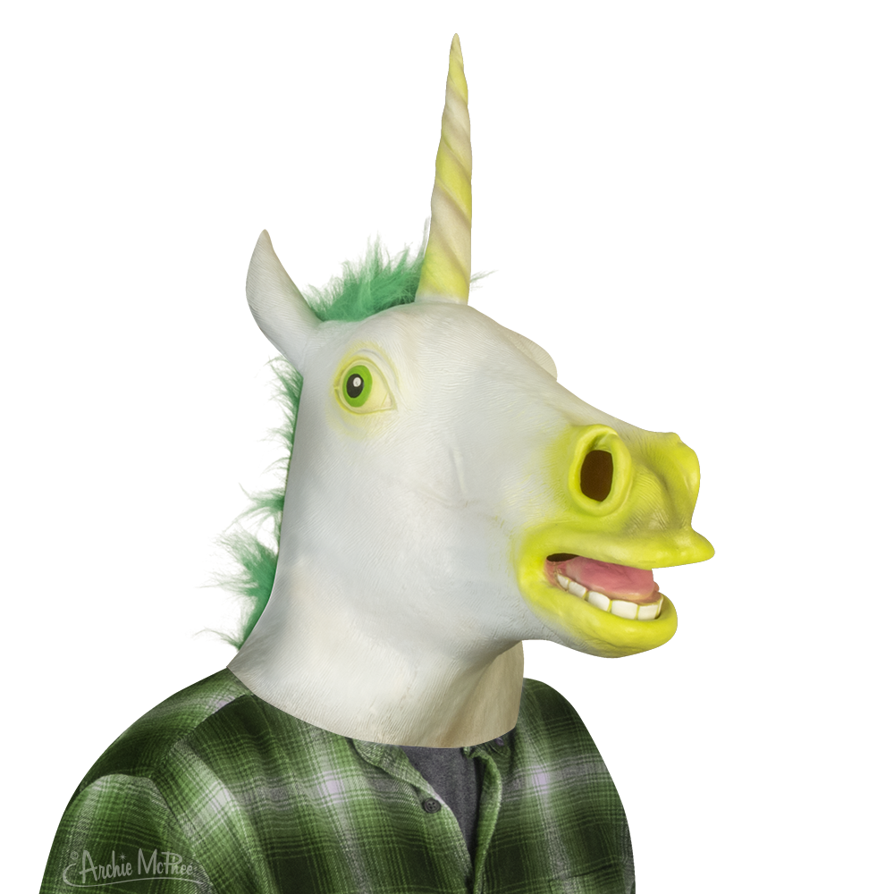 Glow-in-the-Dark Unicorn Mask