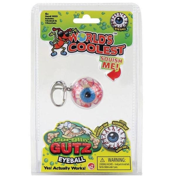 Gurglin' Gutz Eyeball Keychain