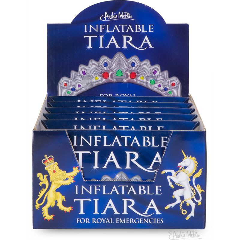 Inflatable Tiara - Bulk Box