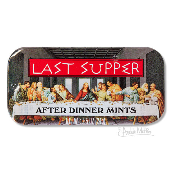 Last Supper After Dinner Mints - Bulk Box