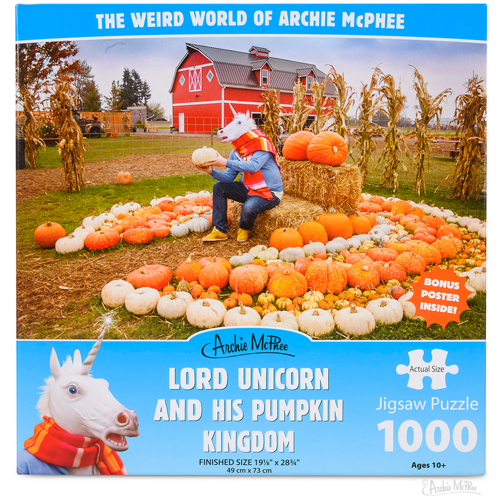 Lord Unicorn and His Pumpkin Kingdom Puzzle