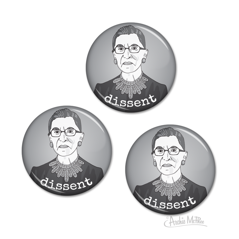 Dissent Buttons
