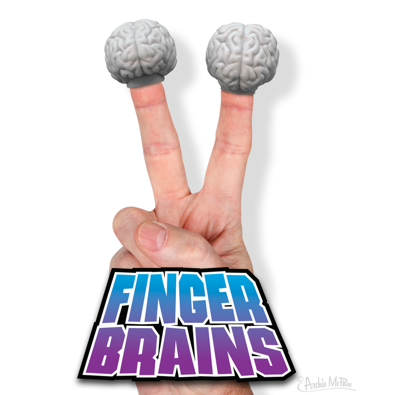 Finger Brains - Set of 2