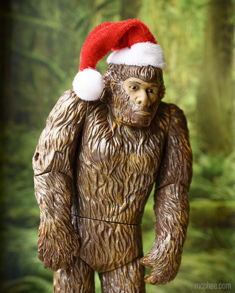 Santa Bigfoot