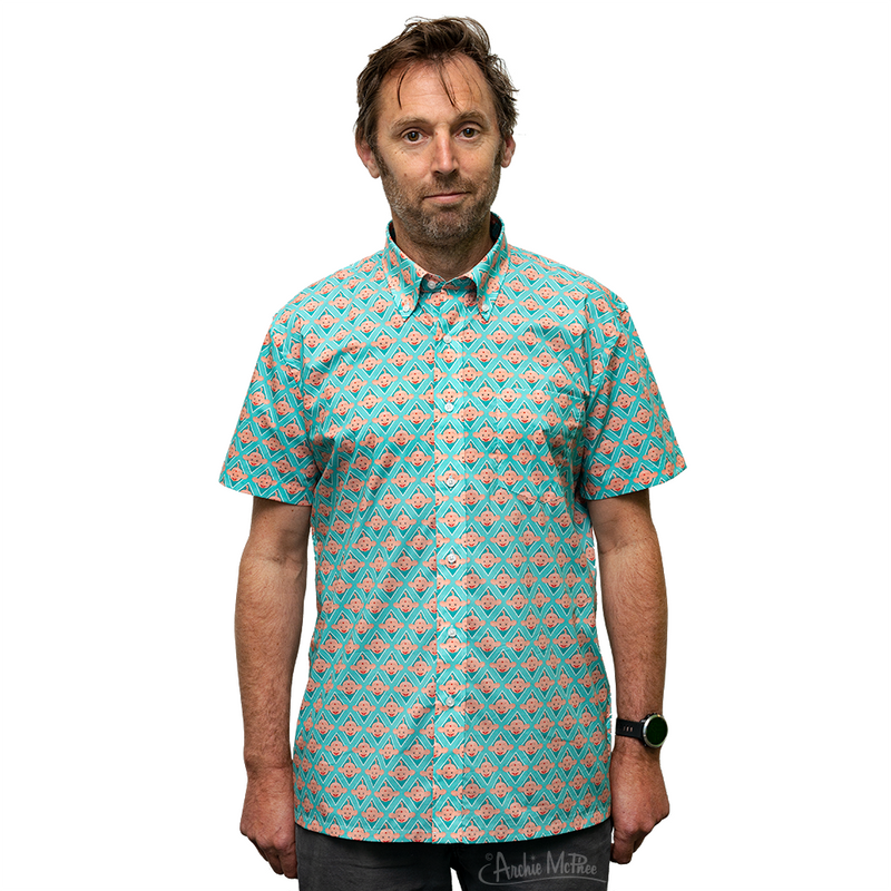 Bibo Button Down Short Sleeve Shirt