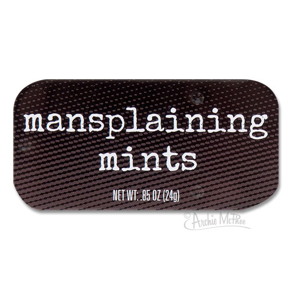 Mansplaining Mints-Archie McPhee
