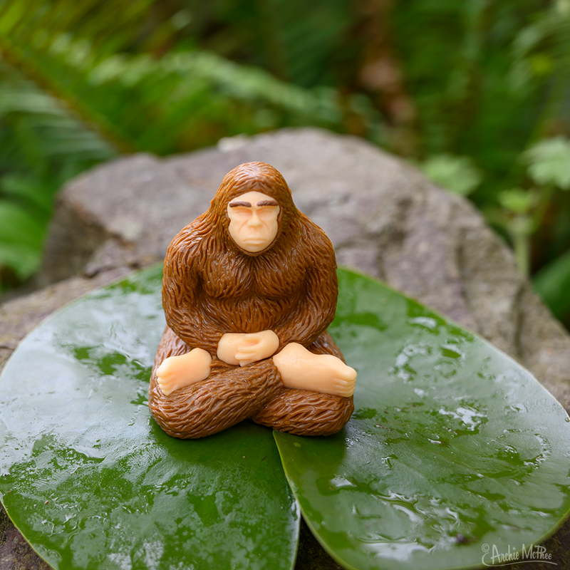 Meditating Bigfoot