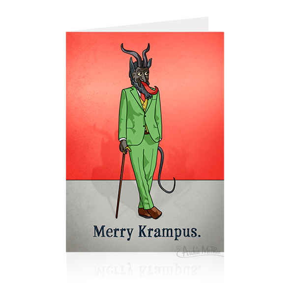 Merry Krampus Card-Archie McPhee