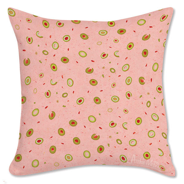 Olive Loaf Pillow Cover-Archie McPhee