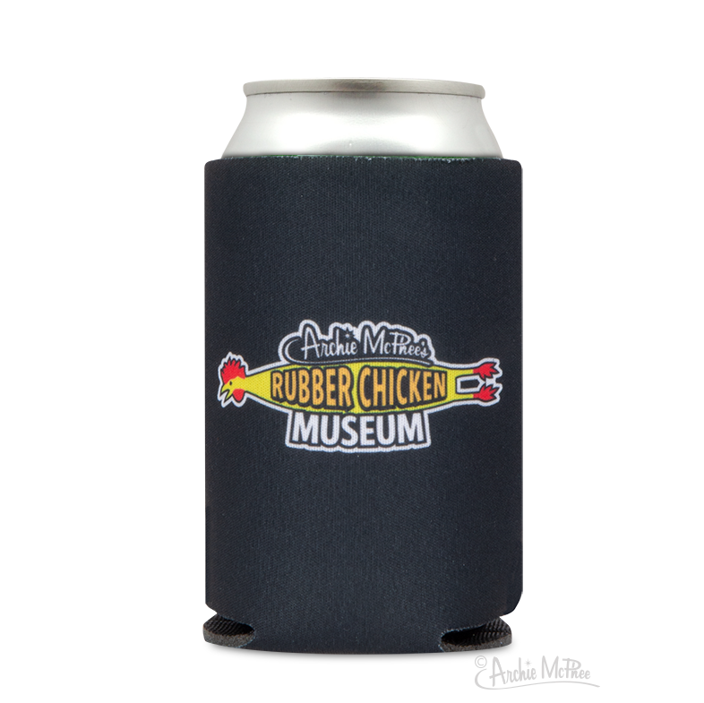 Rubber Chicken Museum Can Cooler