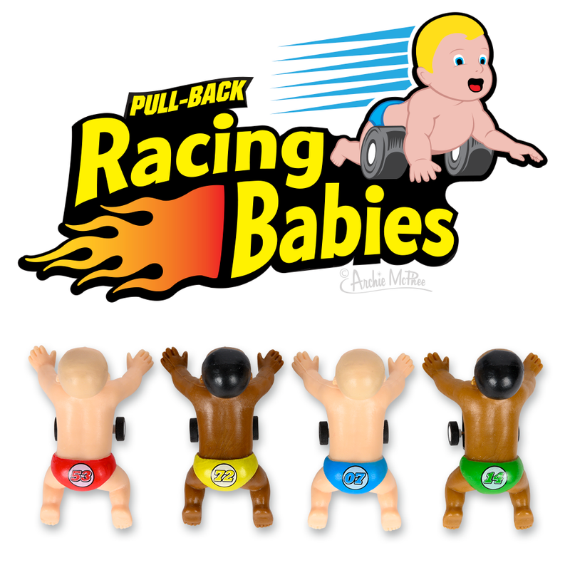 Racing Babies - Set of 4