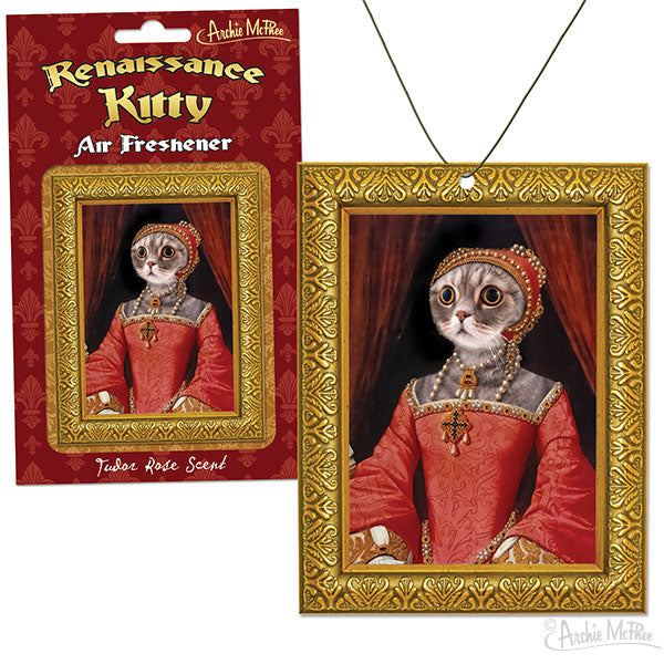 Renaissance Kitty Air Freshener-Archie McPhee
