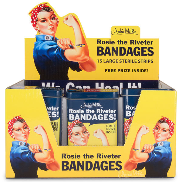 Rosie the Riveter Bandages - Bulk Box