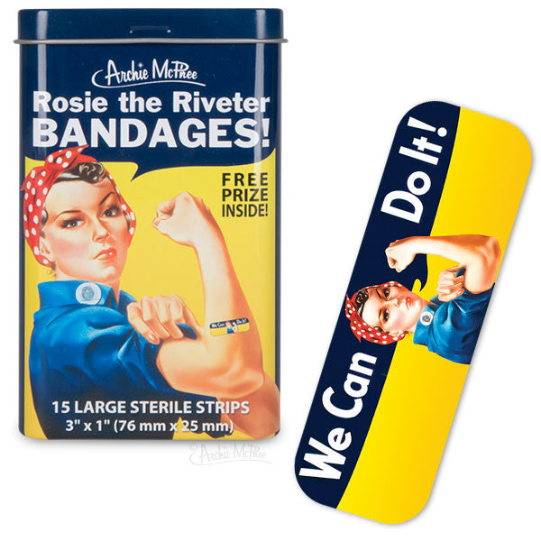 Rosie the Riveter Bandages-Archie McPhee