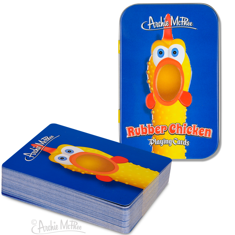 Rubber Chicken Playing Cards