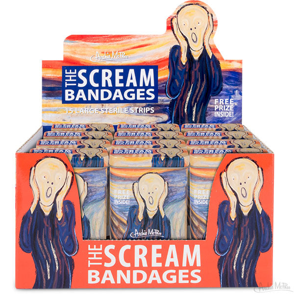 The Scream Bandages - Bulk Box