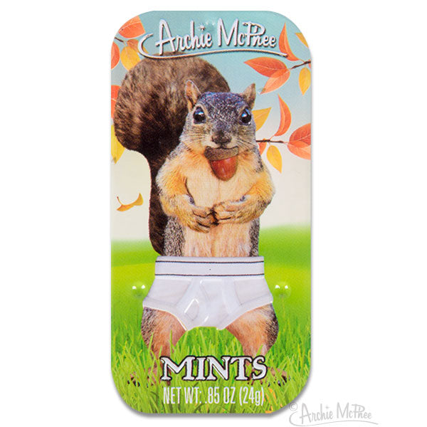 Squirrel in Underpants Mints-Archie McPhee