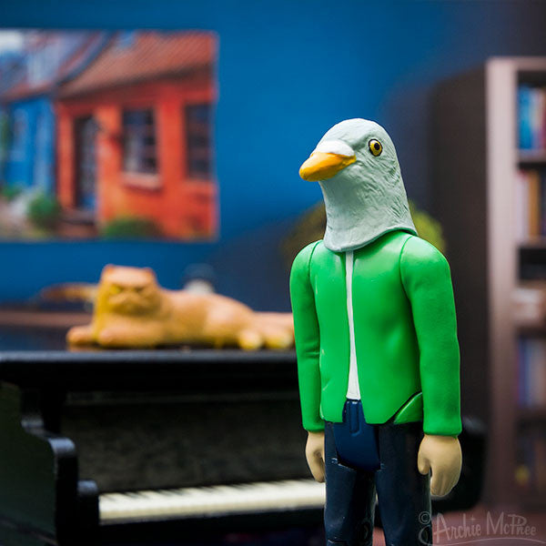 Strange Friends® Yuji Pigeon Action Figure-Archie McPhee