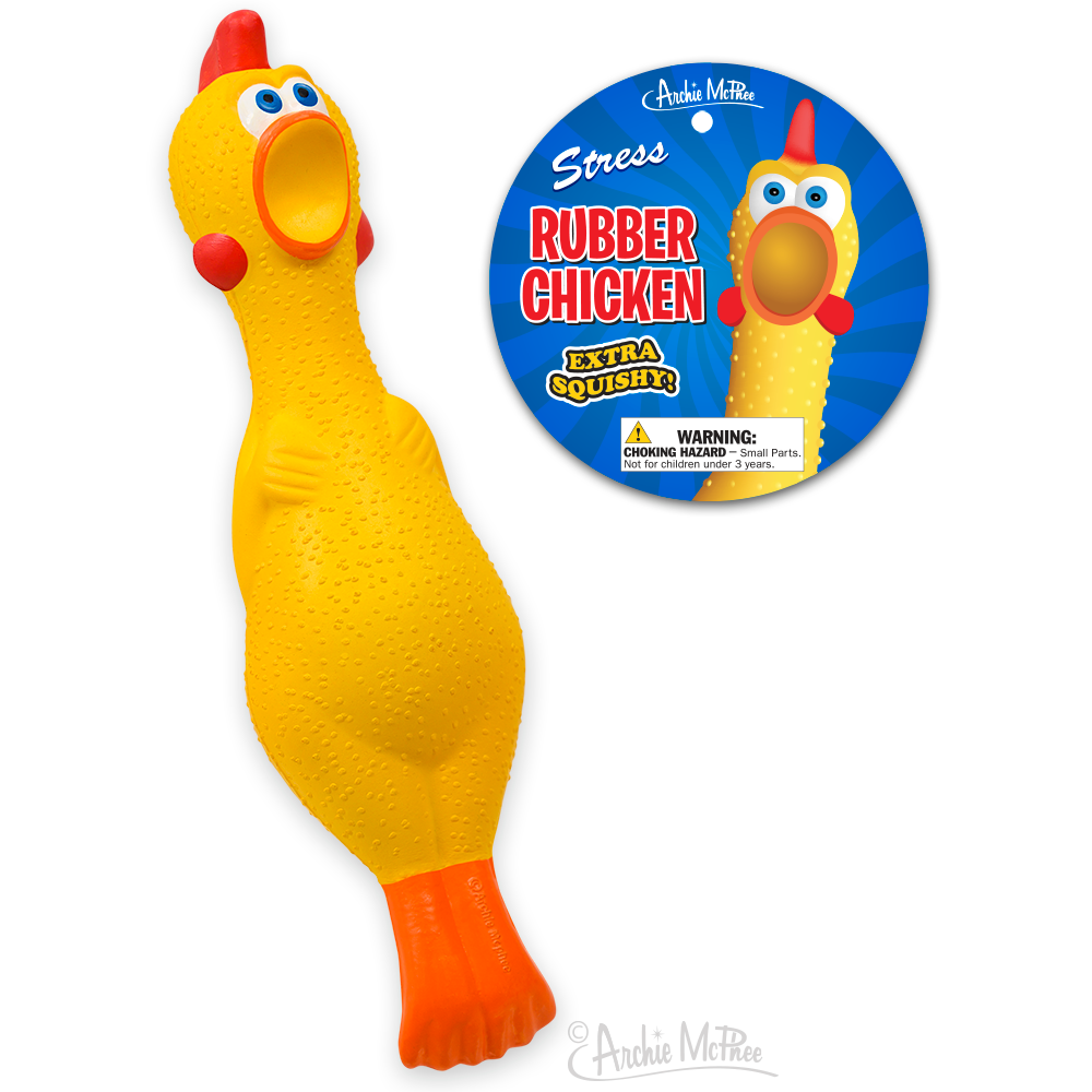 Stress Rubber Chicken