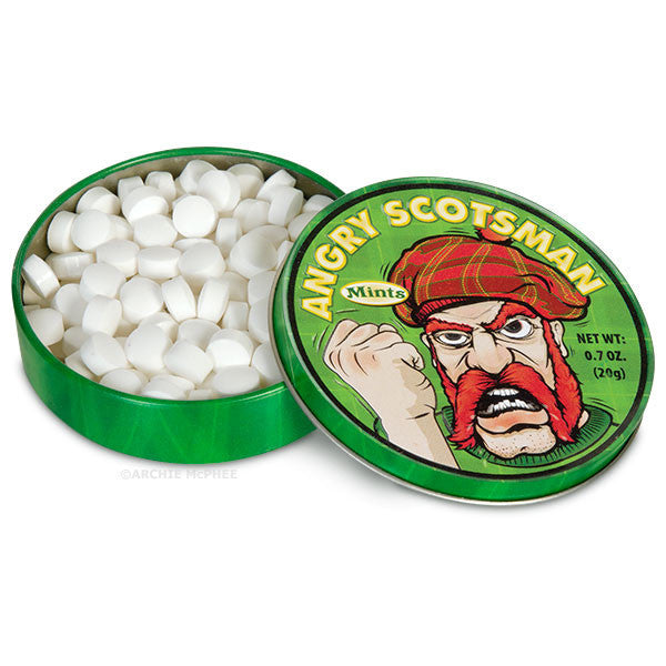 Angry Scotsman Mints-Archie McPhee