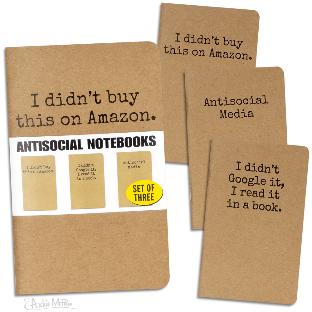 Antisocial Media Notebooks