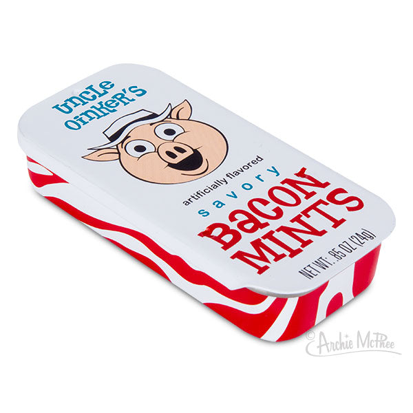 Bacon Mints - Bacon flavored breath mints