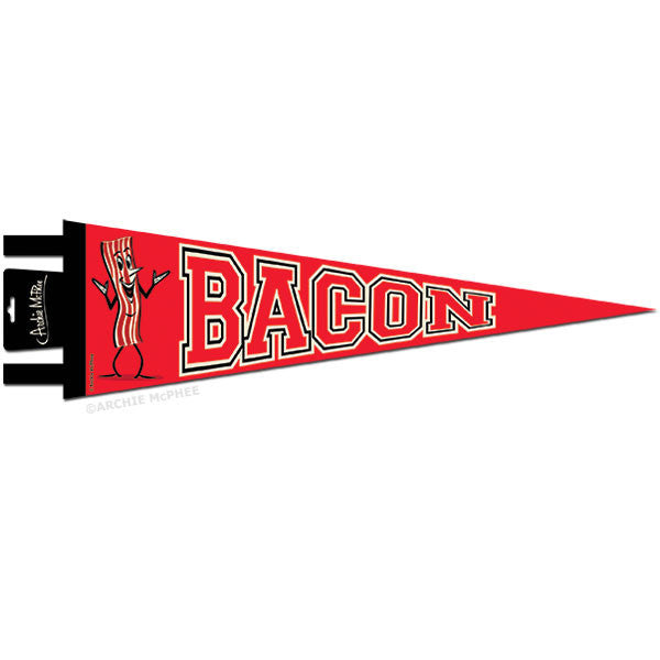 Bacon Pennant-Archie McPhee
