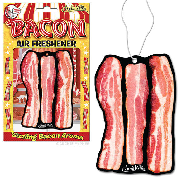 Bacon Air Freshener-Archie McPhee