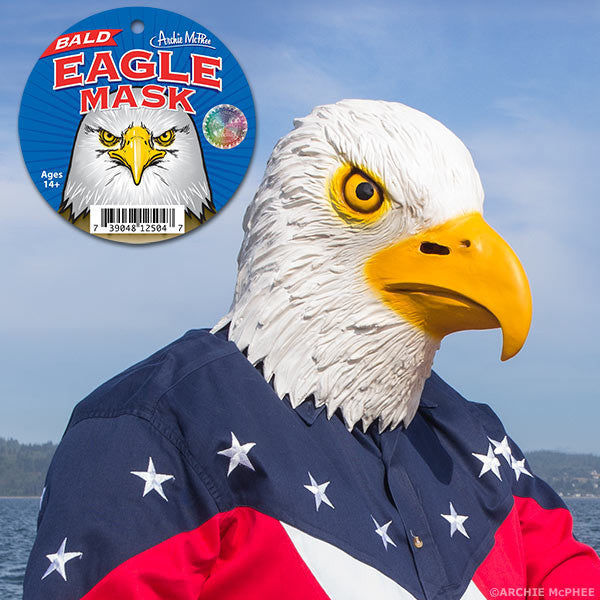 Bald Eagle Mask - Archie McPhee - 1