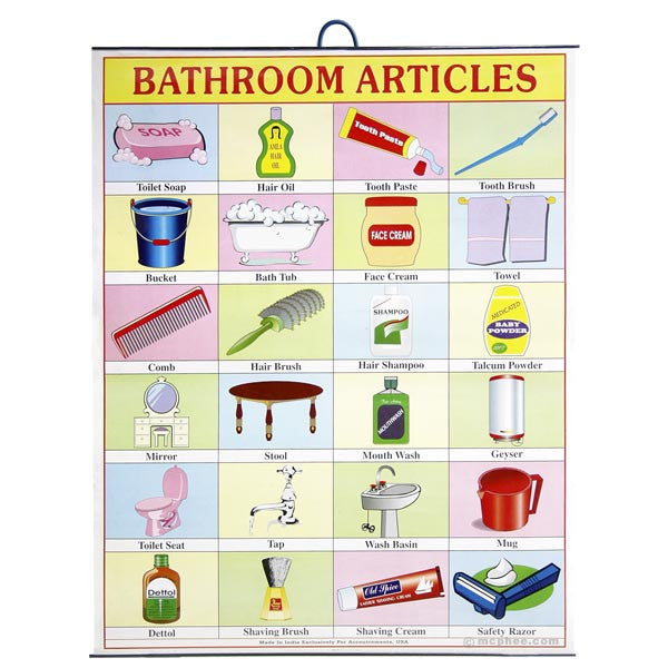 Bathroom Articles Indian Poster-Archie McPhee