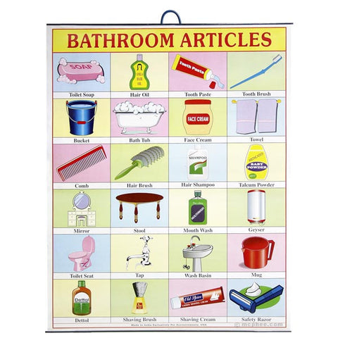 Bathroom Articles Indian Poster