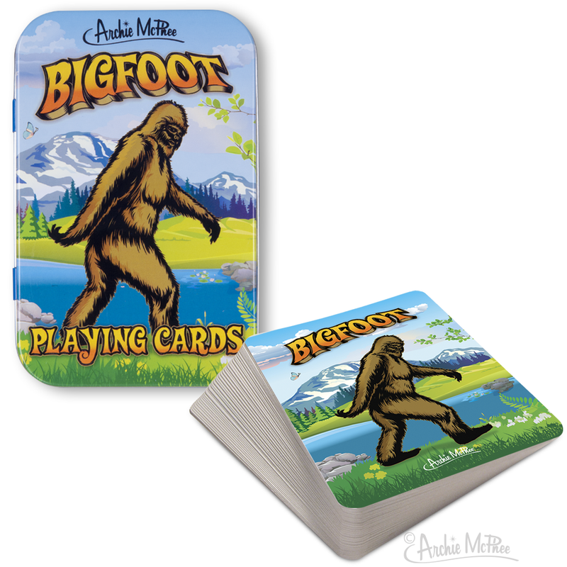 Bigfoot Playing Cards